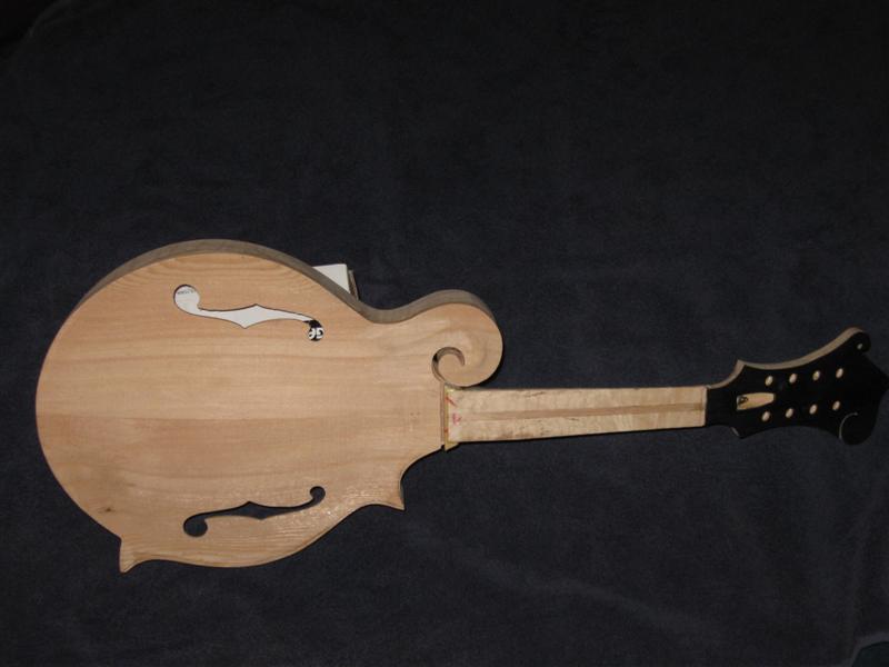 Making A Mandolin